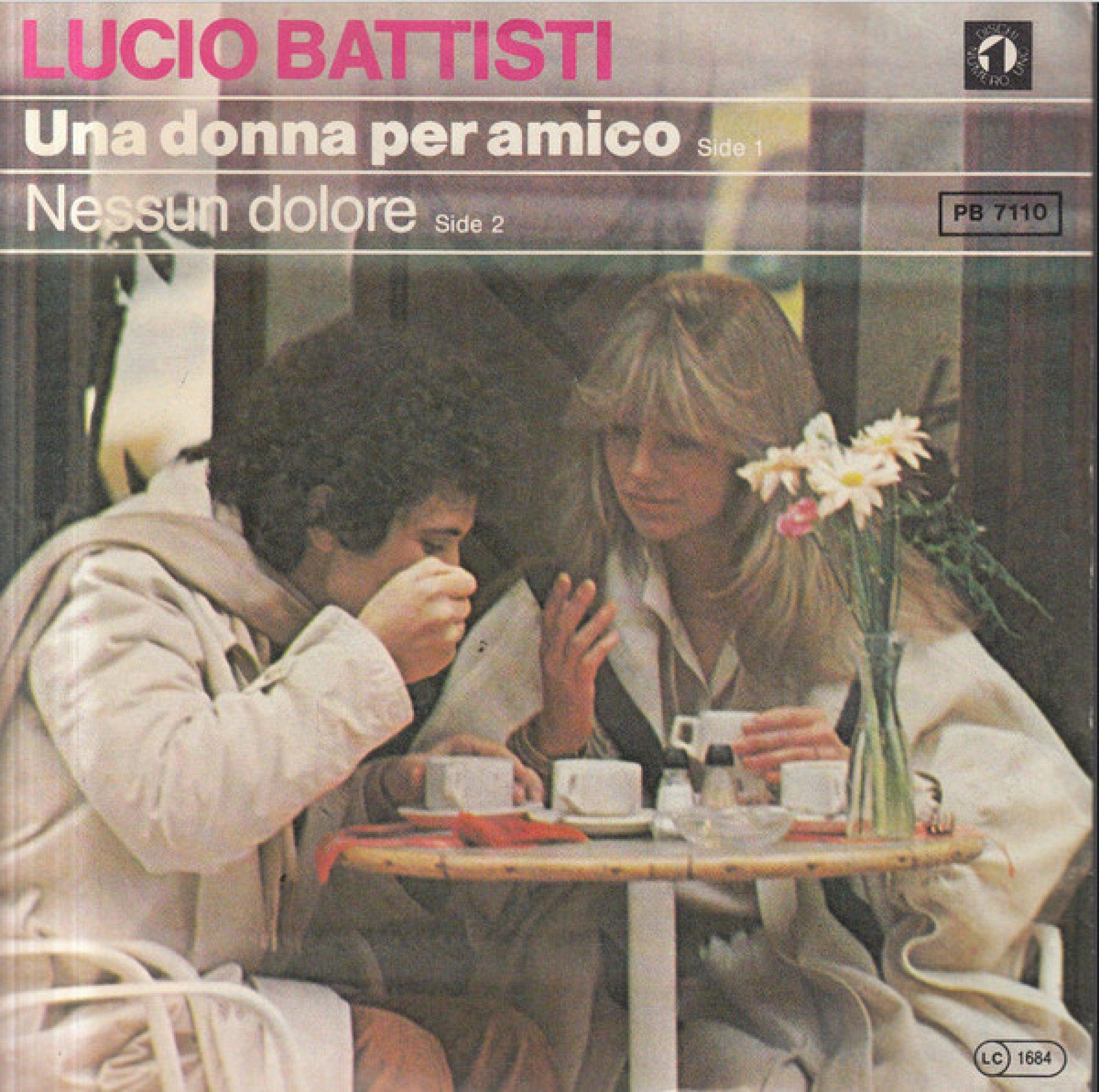 Lucio Battisti Una Dona Per Amico